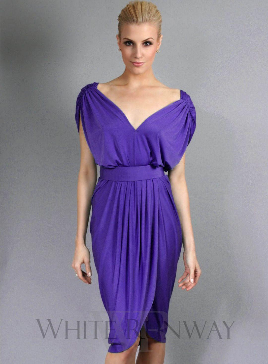 Excepcional Vestidos Invitado A La Boda Púrpura Ornamento - Ideas de ...