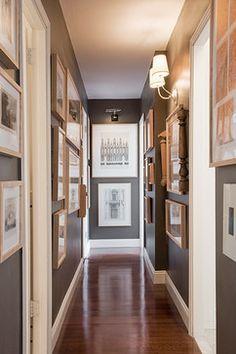Decorating A Narrow Long Hall Hallway Design Ideas
