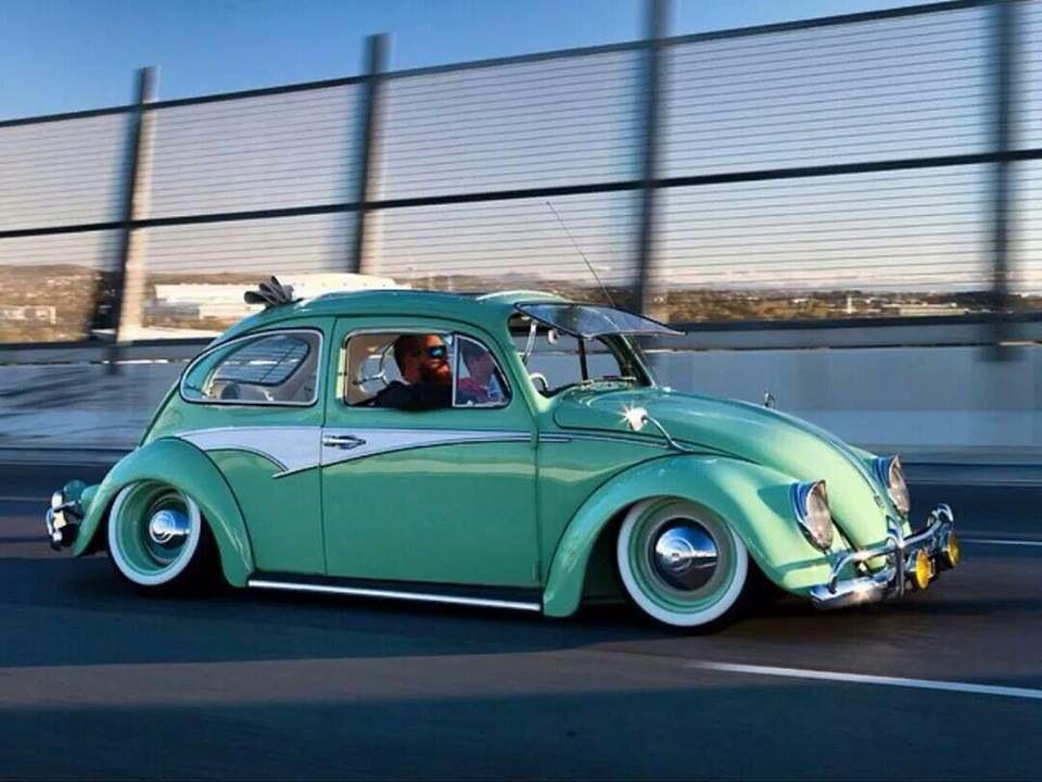 fusca rebaixado fusca exterior pinterest vw volkswagen  beetles