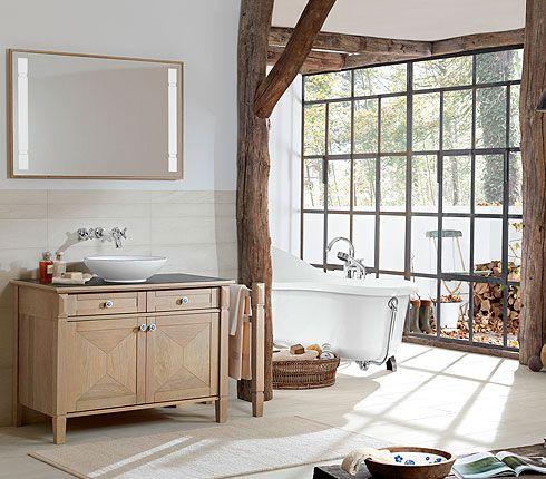 une magnifique salle de bains en bois coup de coeur salle de bains pinterest du bois. Black Bedroom Furniture Sets. Home Design Ideas
