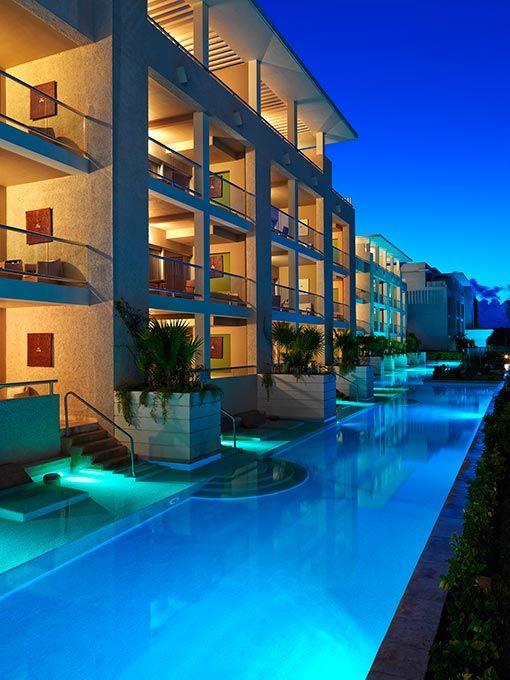 Paradisus Playa Del Carmen La Perla Hotel In Riviera Maya Mexico