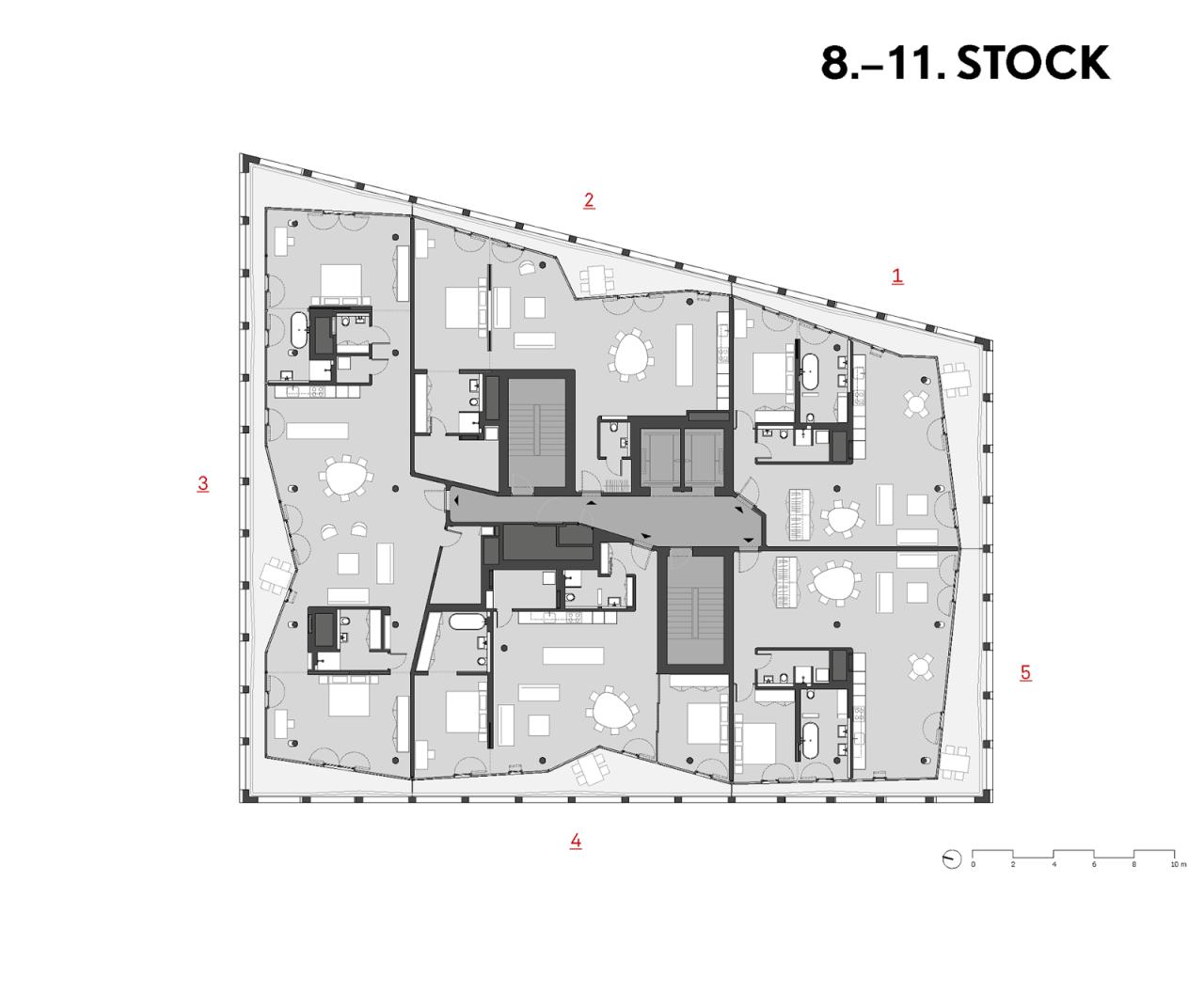 plans of architecture herzog u0026 de meuron archive and apartment