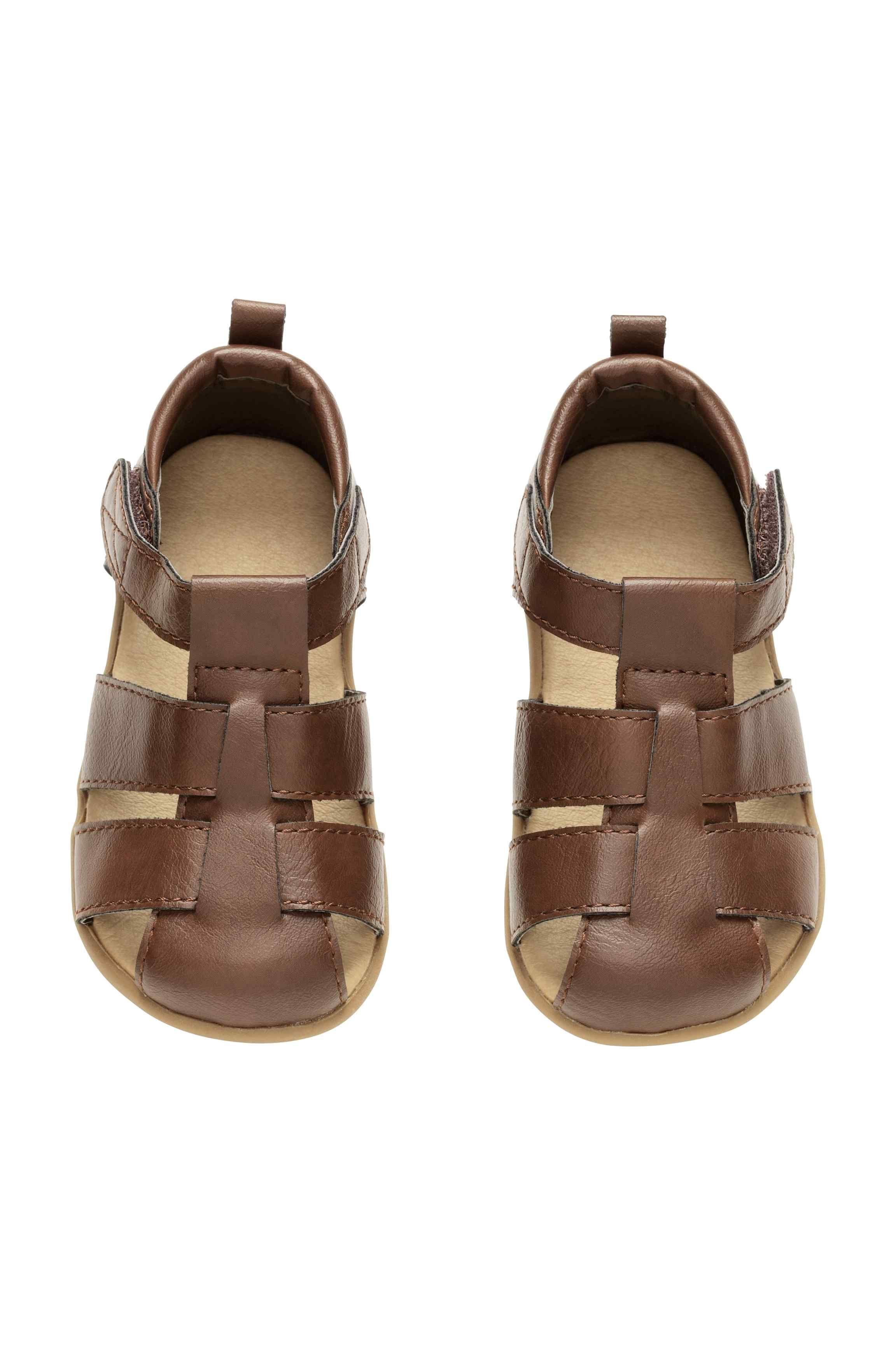 Sandaly Ciemnobrazowy H M Pl Vegan Leather Shoes Sandals Vegan Shoes