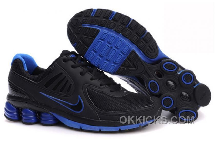 bf697a266bc Find the Authentic Men s Nike Shox Shoes Black Dark Blue at Pumacreeper.