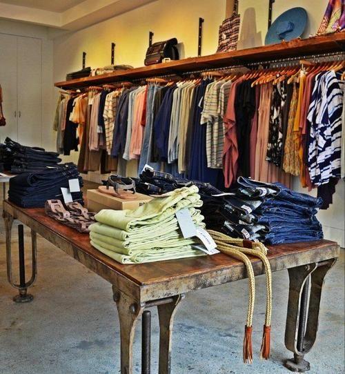 rustic clothing rack - Google Search | Queenie's | Rustic ...