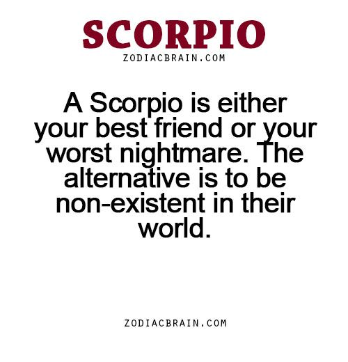 Scorpios are worst why the 6 Zodiac