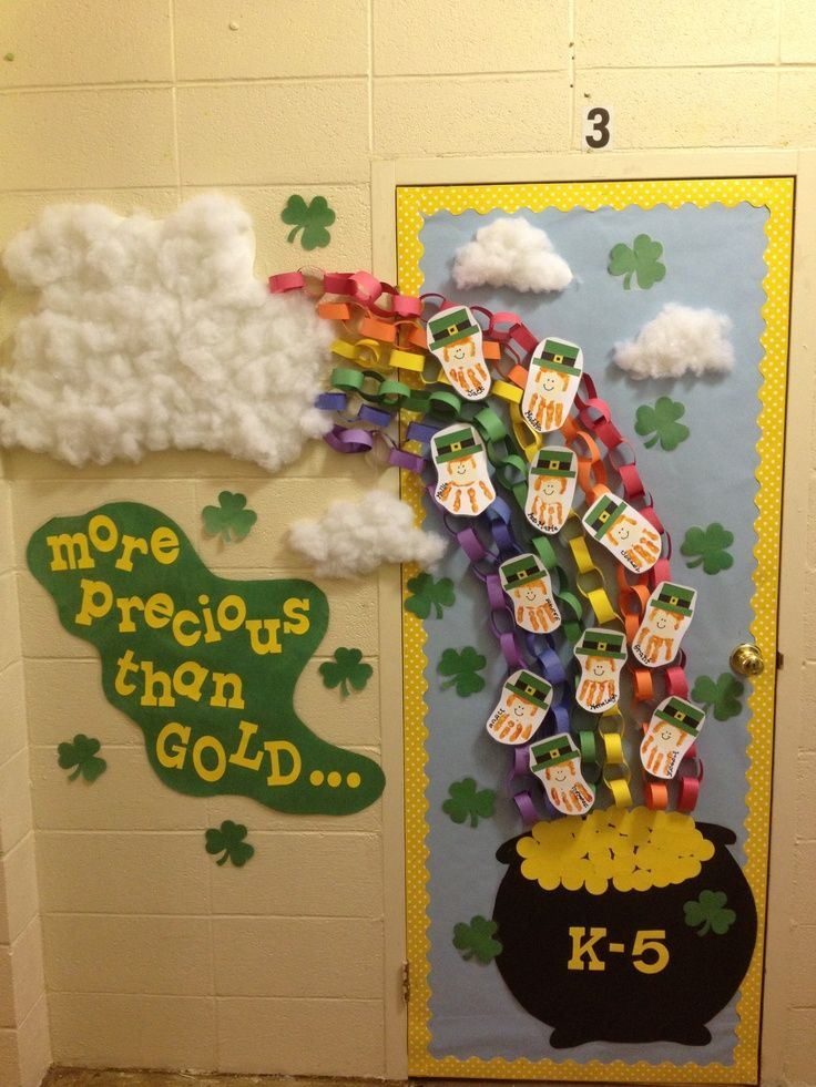 St Patricks Day Classroom Door Decorations St Patrick S Day