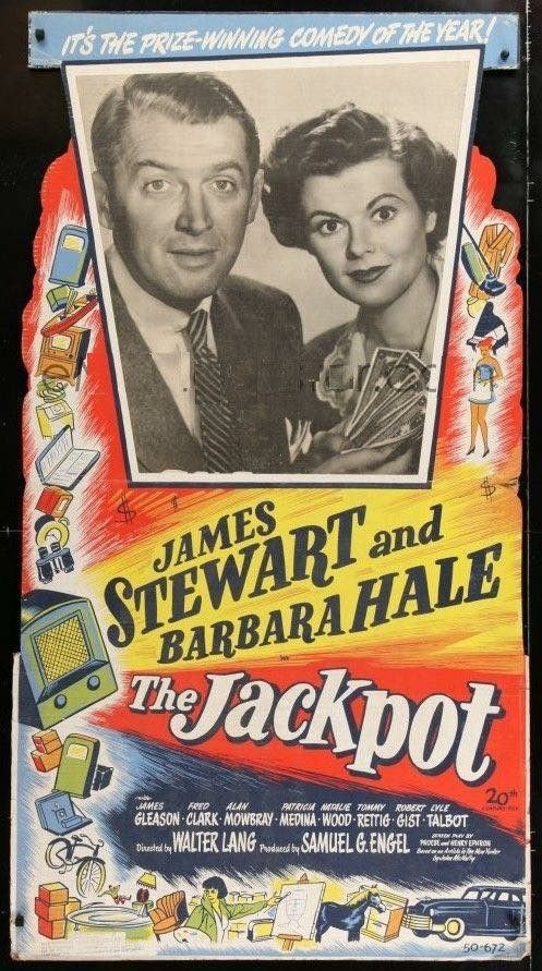 Image result for images from the 1951 movie the jackpot