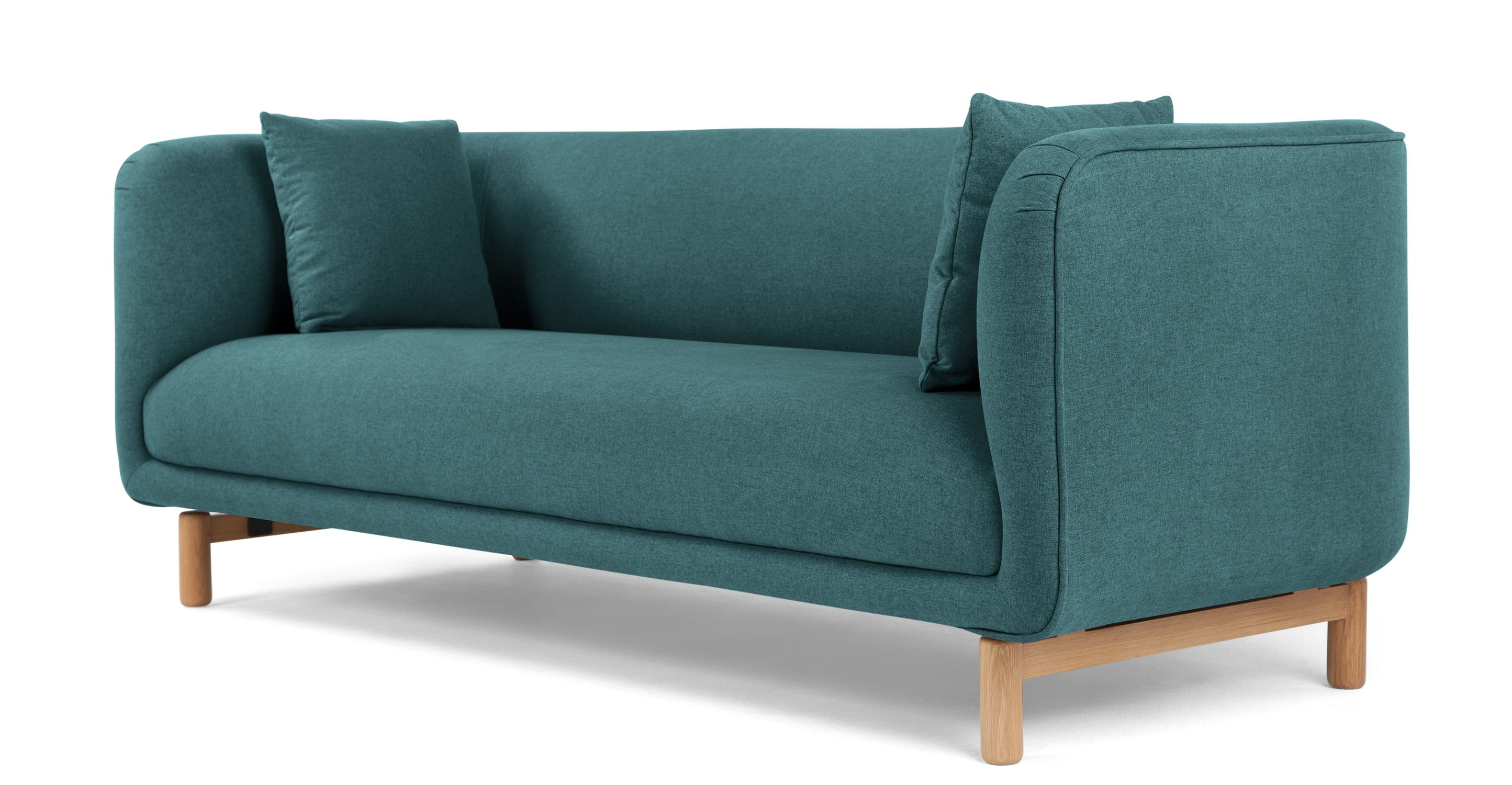 Tribeca 3 Seater Sofa Mineral Blue from Made Express delivery