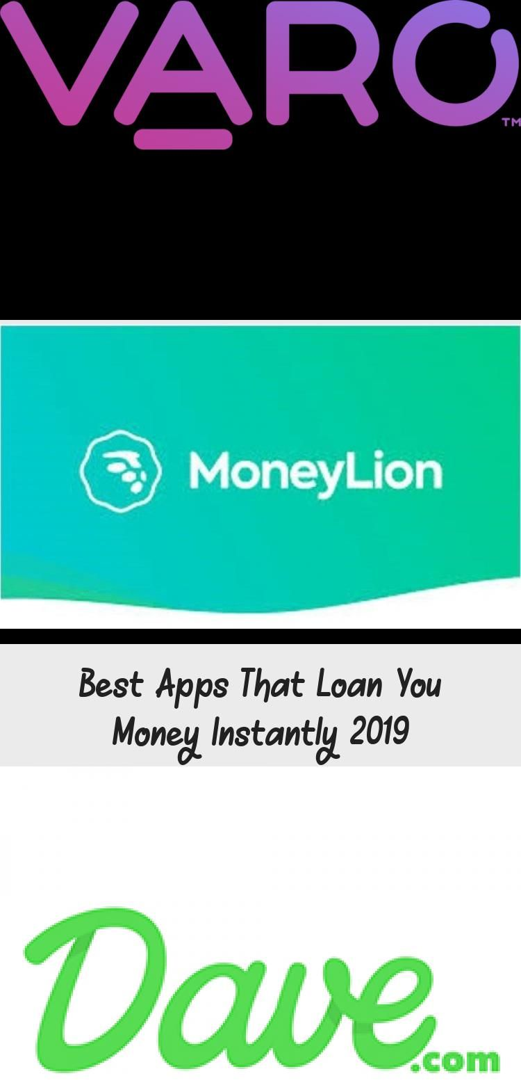 Best Apps That Loan You Money Instantly 2019 In 2020 With Images
