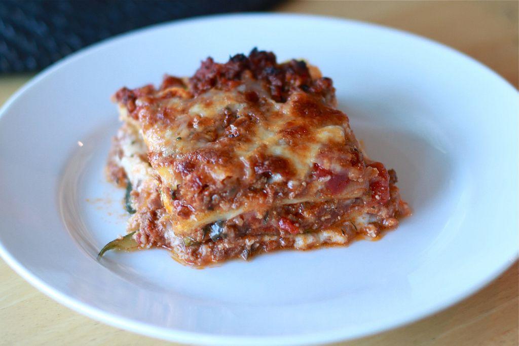 Primal Zucchini Lasagna - we had a bunch of zucchini from the garden we needed to burn.  soooo good