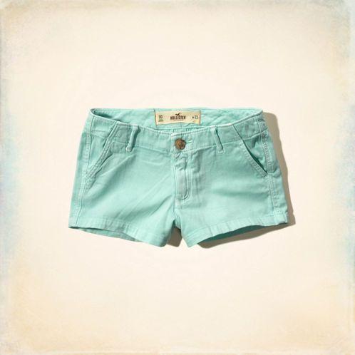 Girls Hollister Low Rise Short-Shorts