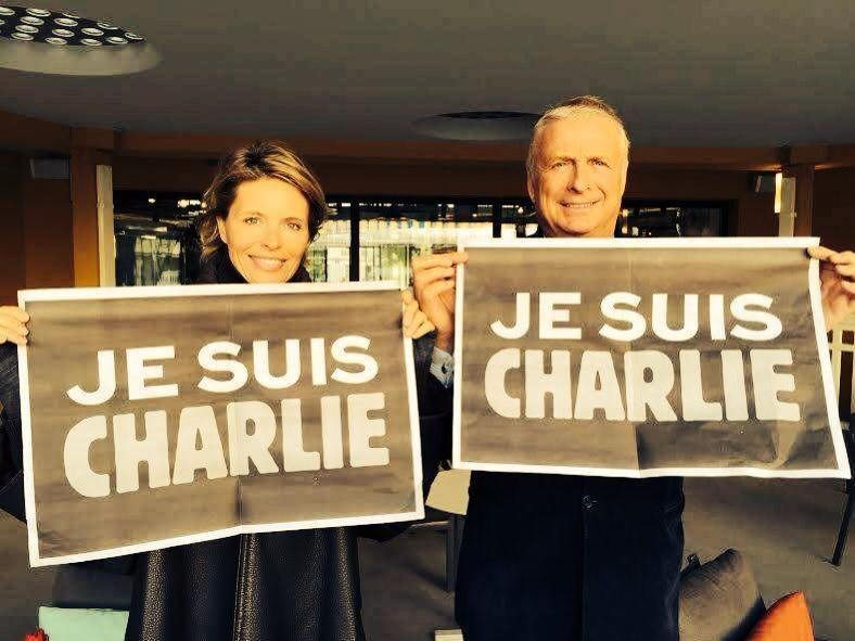 Une réalité : c'est la solidarité. L'exemple de ce début d'année doit nous guider. C.Courtin-Clarins #JeSuisCharlie