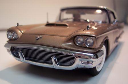 '59 Thunderbird model in Tahitian Bronze | Danbury Mint