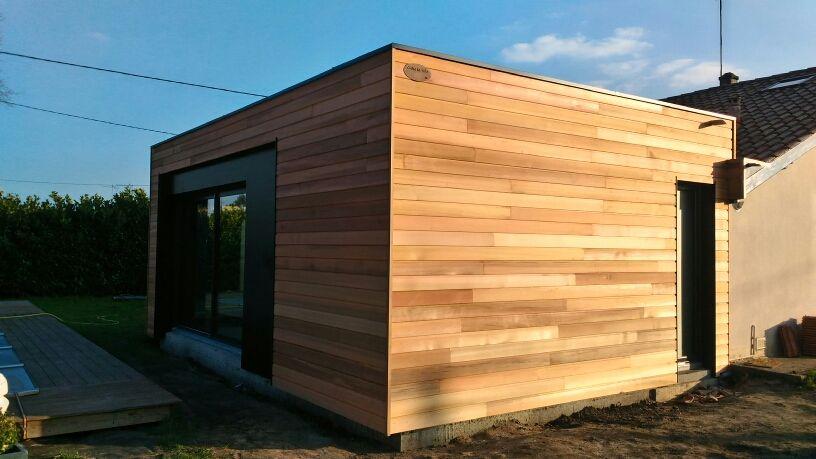 agrandissement de maison @ossature @bois par @cubeinlife @design