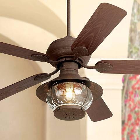 52 Casa Vieja Rustic Indoor Outdoor Ceiling Fan 53438 24789
