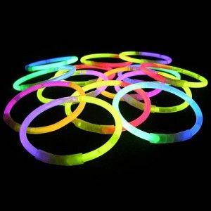 Colour Glow Bracelets Pulseras Fluorescentes