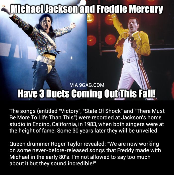 Michael Jackson And Freddie Mercury Have 3 Duets Coming Out