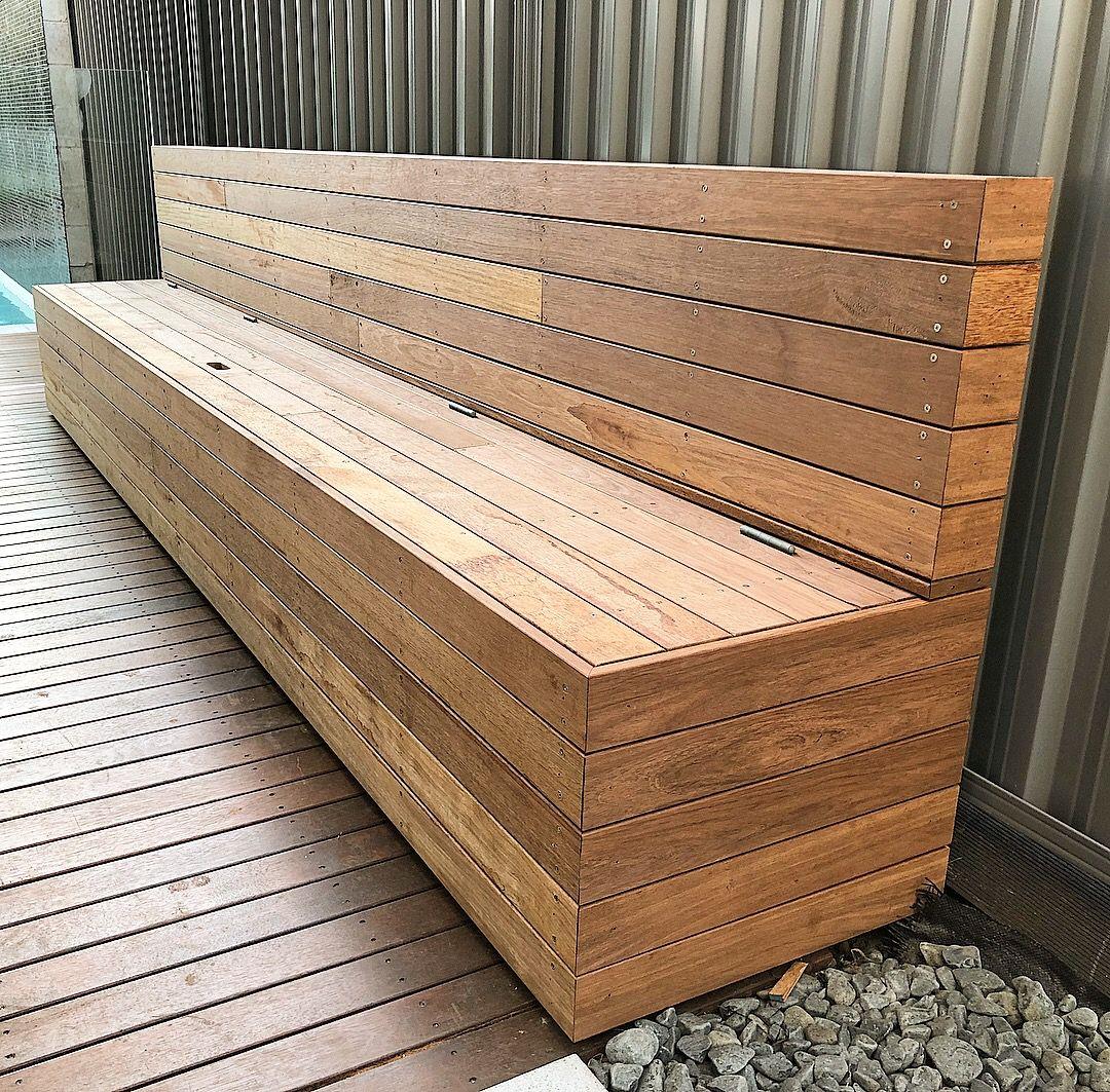 Merbau Hardwood Timber Bench Seat Outdoor Bench Seating Wooden Bench Outdoor Deck Bench Seating