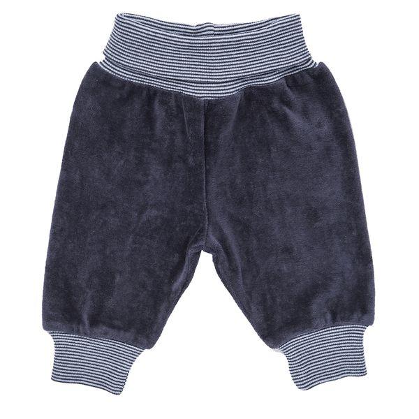 People Wear Organic – Baby Nickyhose dunkelblau u. taube biologisch | Avocadostore