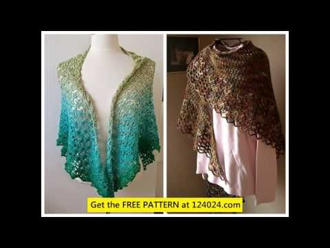 crochet shawl pattern free crochet shawl pattern easy crochet ...