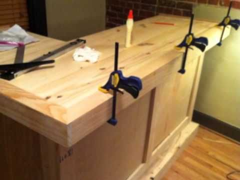 Exceptional Building Your Own Bar (Basement)   YouTube