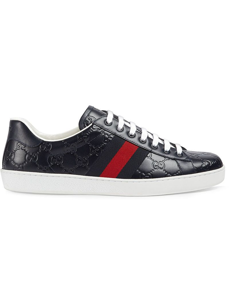d86a9e6ca8d GUCCI GUCCI - ACE GUCCI SIGNATURE SNEAKER .  gucci  shoes
