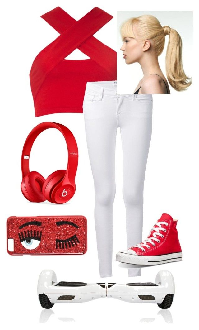"""Wish list summary"" by musicplayer101x2 ❤ liked on Polyvore featuring Motel, Frame Denim, Beats by Dr. Dre, Chiara Ferragni and Converse"