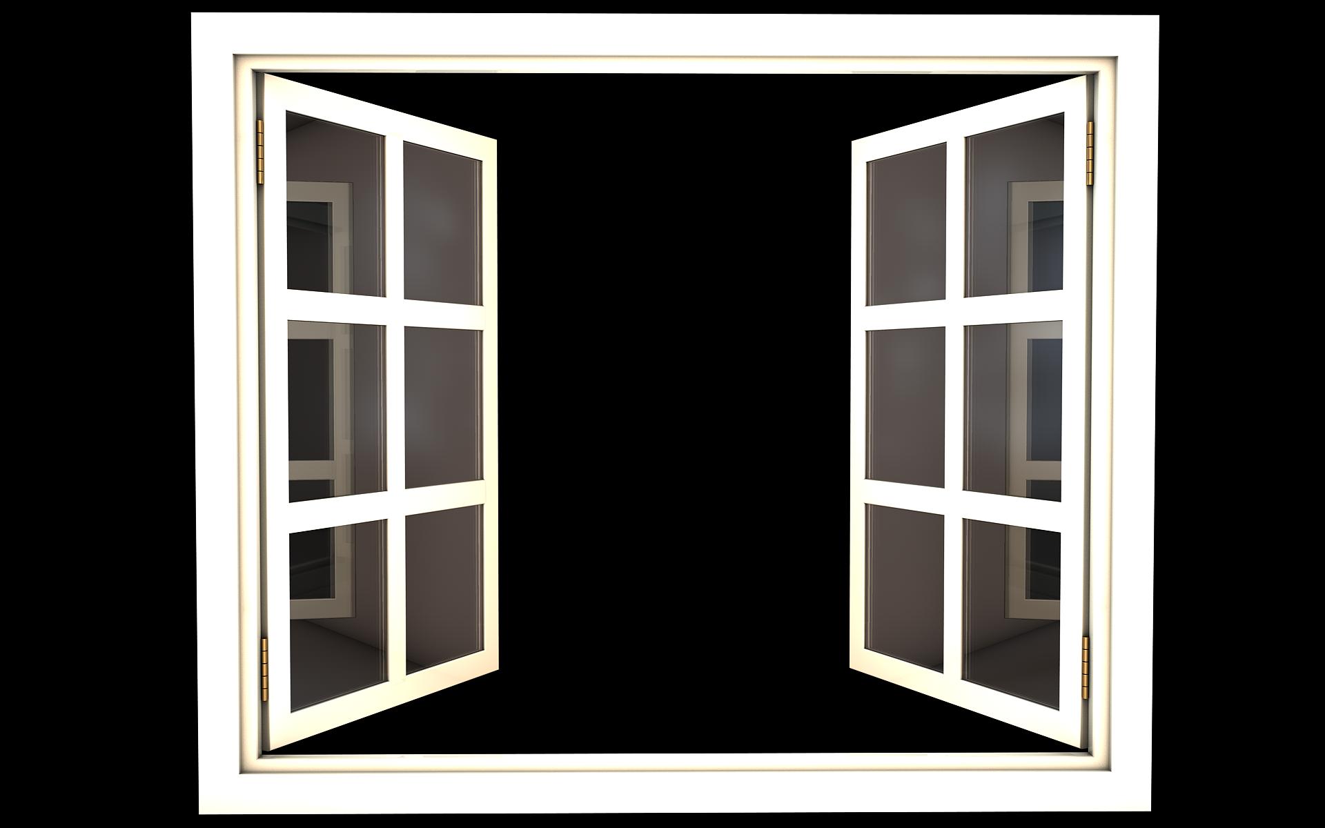 Open Window Png Windows French Doors Open Window