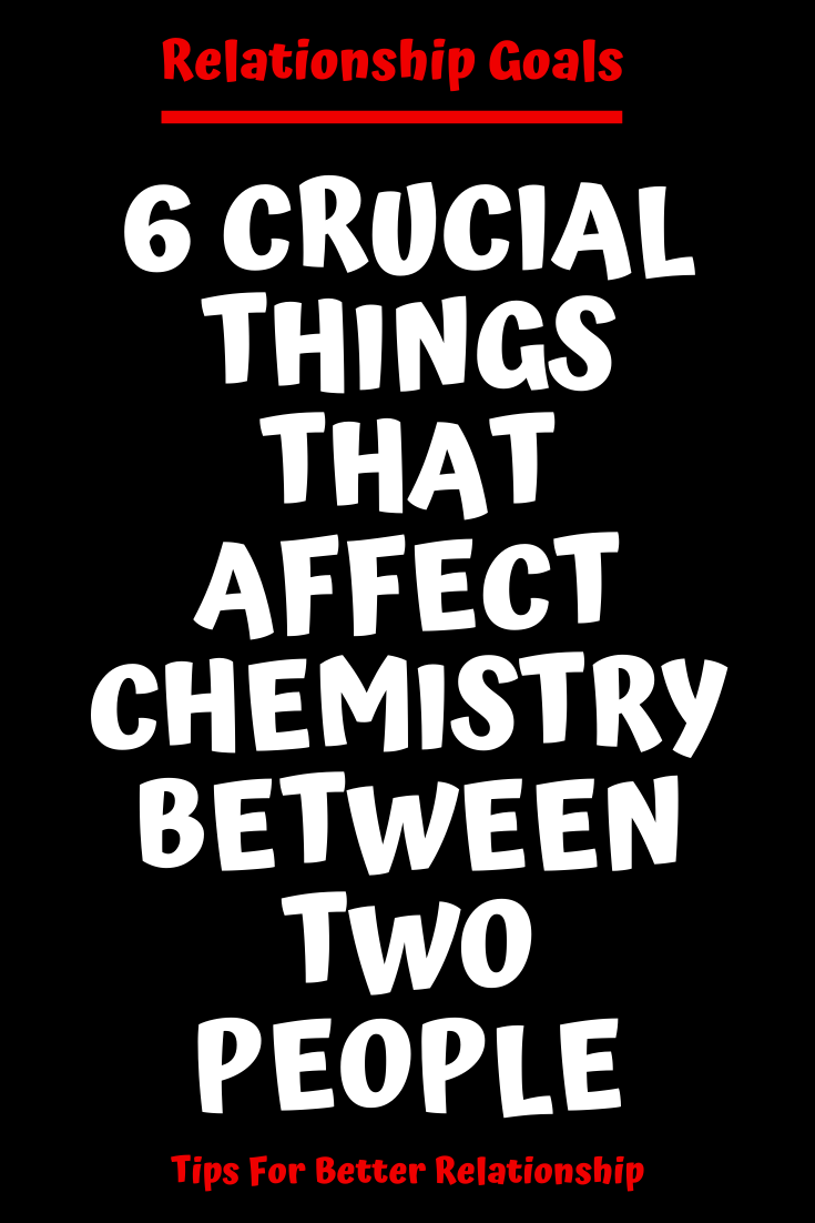 Physical chemistry between two people