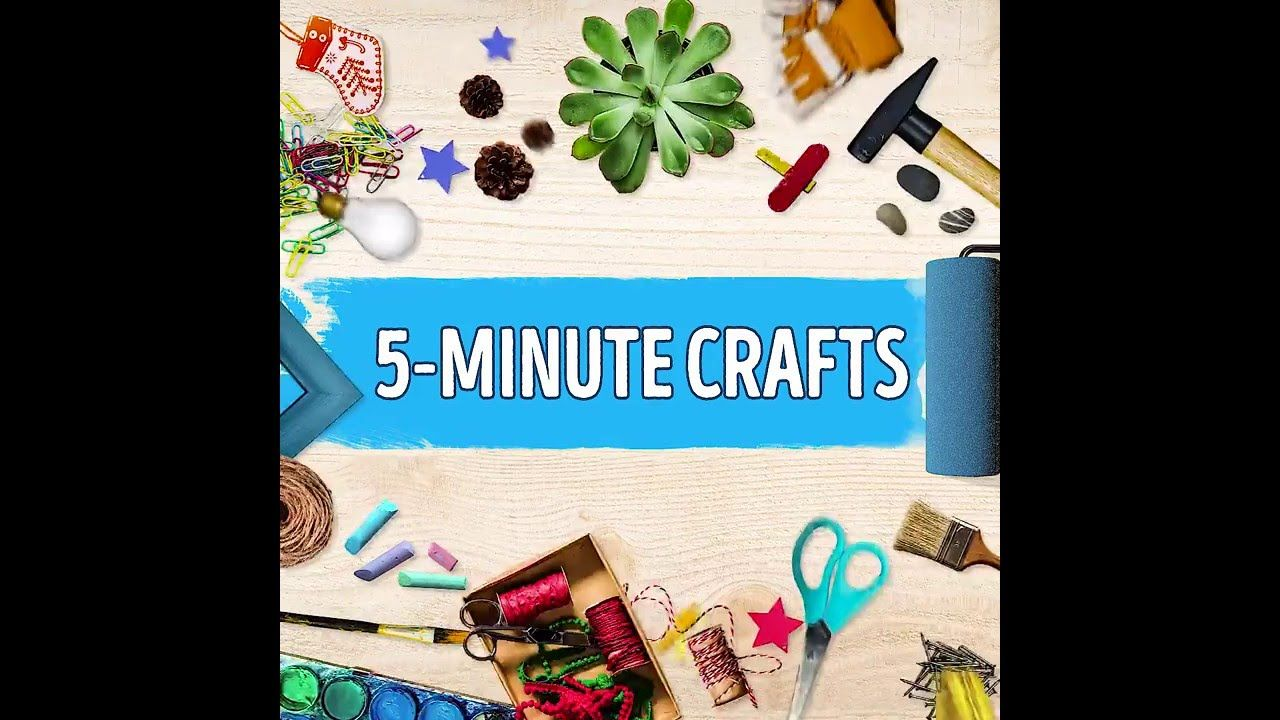 5 Minute Craft Bright Side Crafts 5 Minute Crafts 5 Minute
