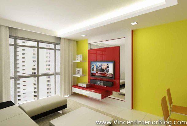 Punggol BTO 4 Room HDB renovation by Interior Designer Ben Ng ...