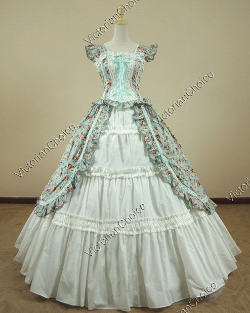 Victorian Ball Gown Dresses
