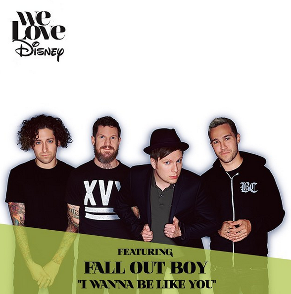 We Love Disney By Various Artists On Itunes Fall Out Boy Disney Jungle Book