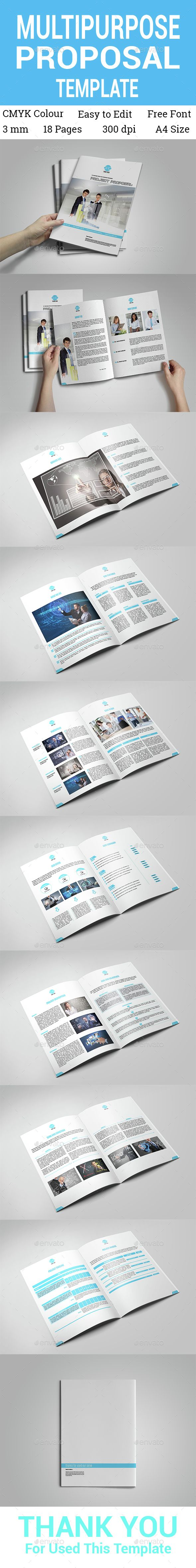 Multipurpose Proposal Template  Proposal Templates Proposals And