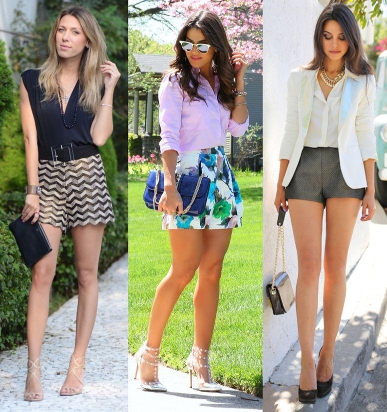 Como usar shorts de cintura alta para valorizar sua silhueta - Dicas de  Mulher f4b1bc323e8d9