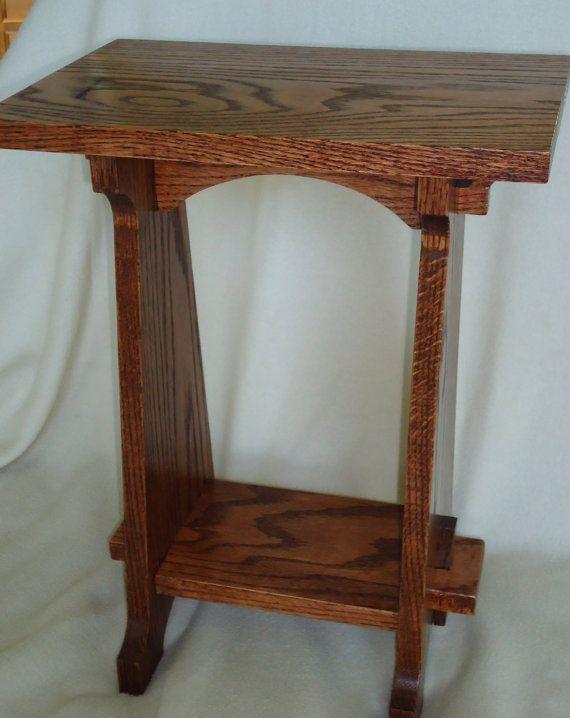 Handmade Arts Crafts Style Oak Table Arts Crafts Furniture