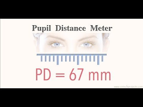 Pin On Pupil Distance Meter