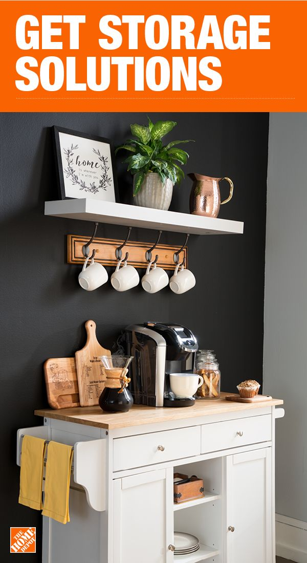 The Home Depot Has Everything You Need For Your Home Improvement Projects Click Through To Learn More About Our St Coffee Bar Home Home Kitchens Kitchen Decor