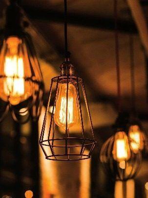 Lampara Edison De Filamentos Foco Bombilla De Filamentos 40w 299 99 Bombillas Focos Iluminacion De Bar