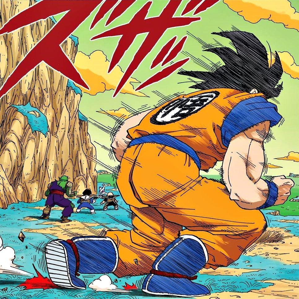 Images Dessins Goku Sur Namek Dragon Ball Art Dragon Ball Z Dragon Ball Super Manga