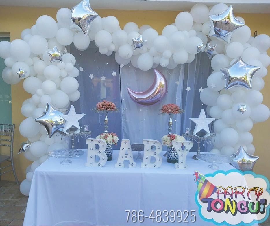 Pin De Maritza Marinos Meza En Cumpleanitos En 2020 Decoraciones De Baby Shower Para Ninos Globos De Baby Shower Decoraciones De Fiestas Para Bebes