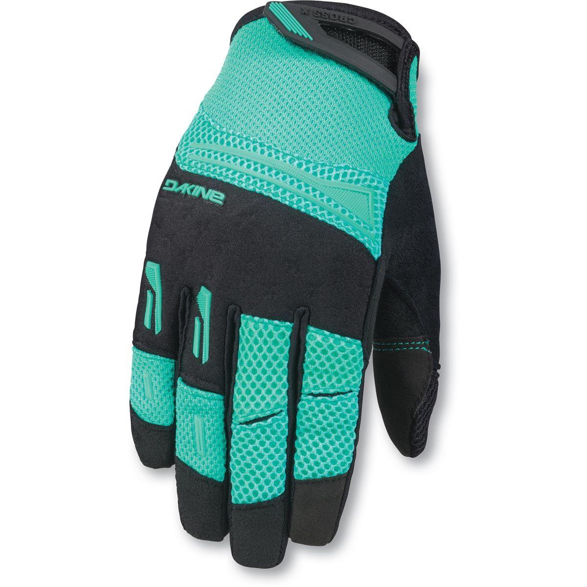 41f29d1a7cc0d Dakine Womens Cross-X Glove Damen Bike Handschuhe Aqua Green ...