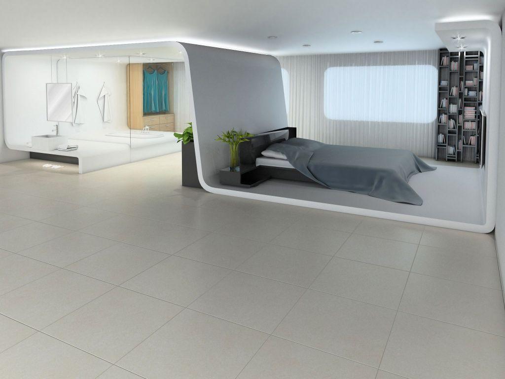 Imagina y construye tu rec mara con un concepto futurista - Disenos de pisos para interiores ...