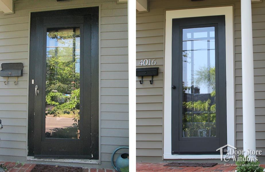 Before And After Gallery Door Store And Windows Law 2014 06 2 Store Door Windows Replace Door
