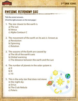 Free 3rd Grade Science Worksheet | Science worksheets ...