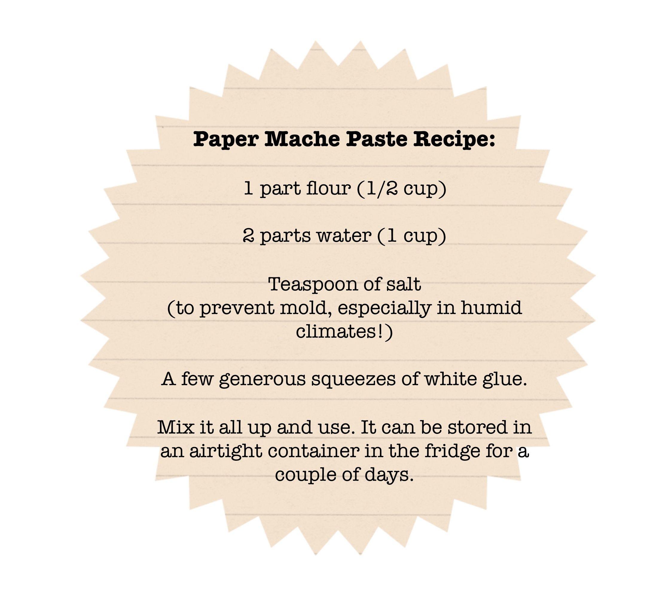 Diy With Andrea Paper Mache Vase Paper Mache Paper Mache Crafts Paper Mache Recipe