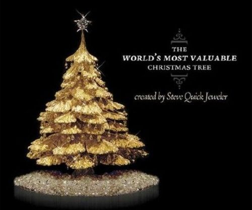 10 Most Expensive Christmas Trees Ever Made Unusual Christmas Trees Fake Christmas Trees Luxury Christmas Tree