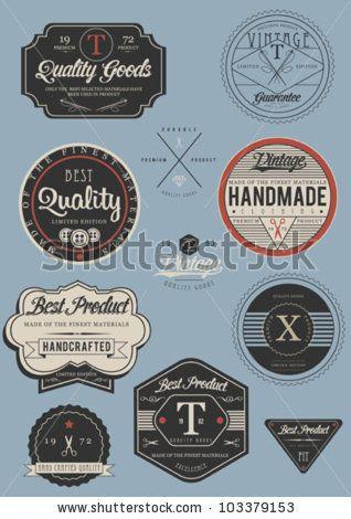 Label Set by grafiz, via Shutterstock