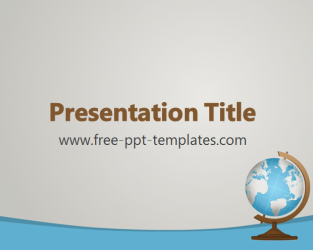 Geography powerpoint template is a grey template with blue and brown geography powerpoint template is a grey template with blue and brown details and image of globr toneelgroepblik Image collections
